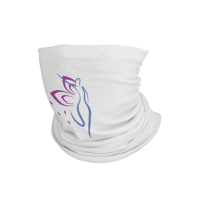 Butterfly Goddess Accessories Neck Gaiter by Shop As You Wish Publishing