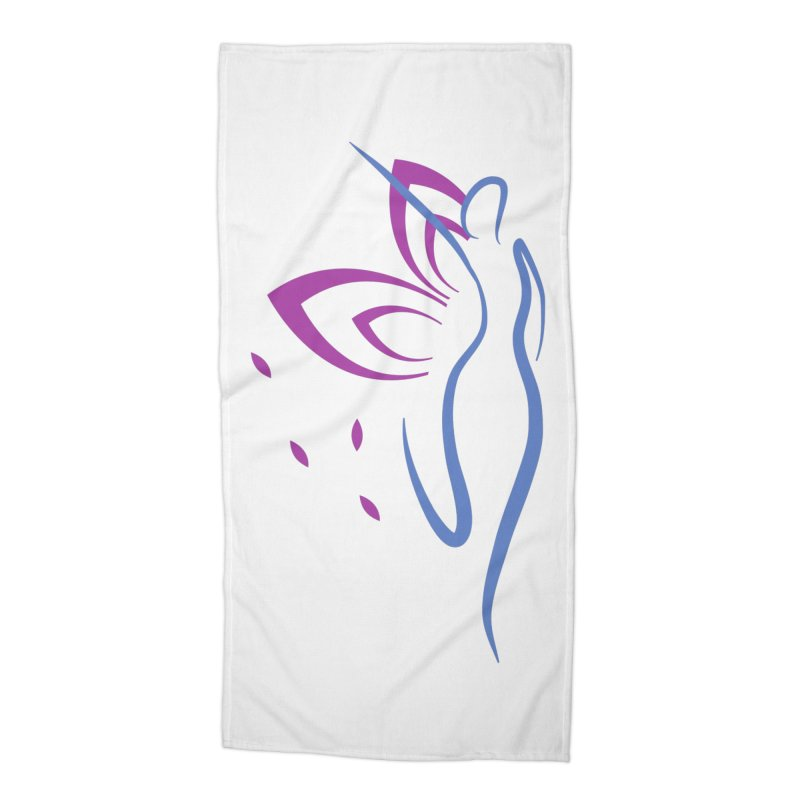 Butterfly Goddess Accessories Beach Towel by Shop As You Wish Publishing