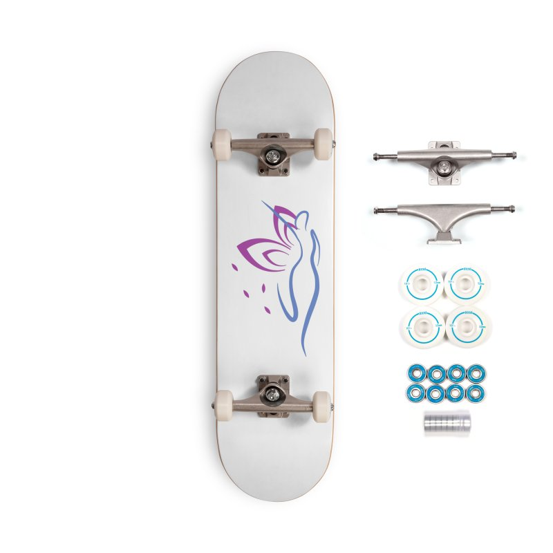 Butterfly Goddess Accessories Skateboard by Shop As You Wish Publishing