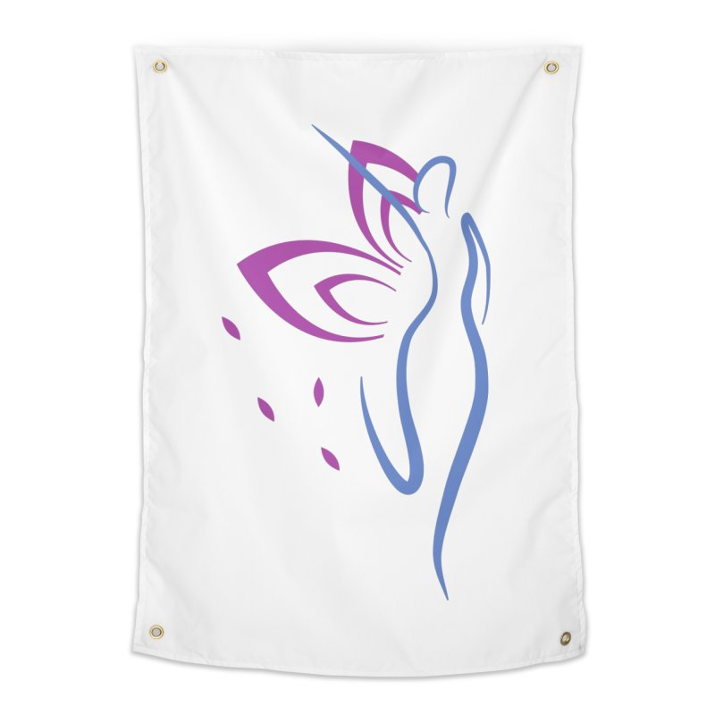 Butterfly Goddess Home Tapestry by Shop As You Wish Publishing