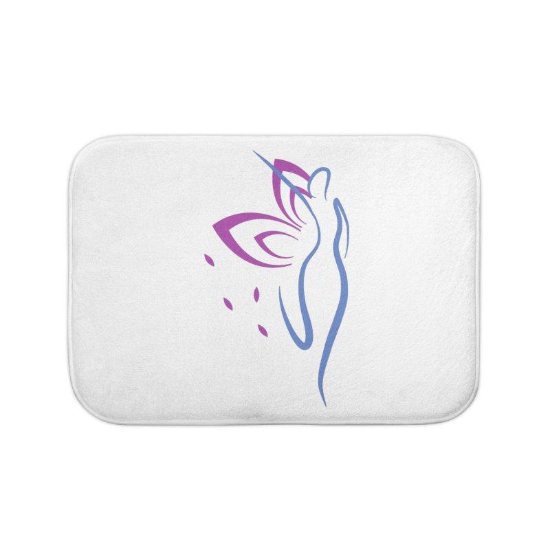 Butterfly Goddess Home Bath Mat by Shop As You Wish Publishing