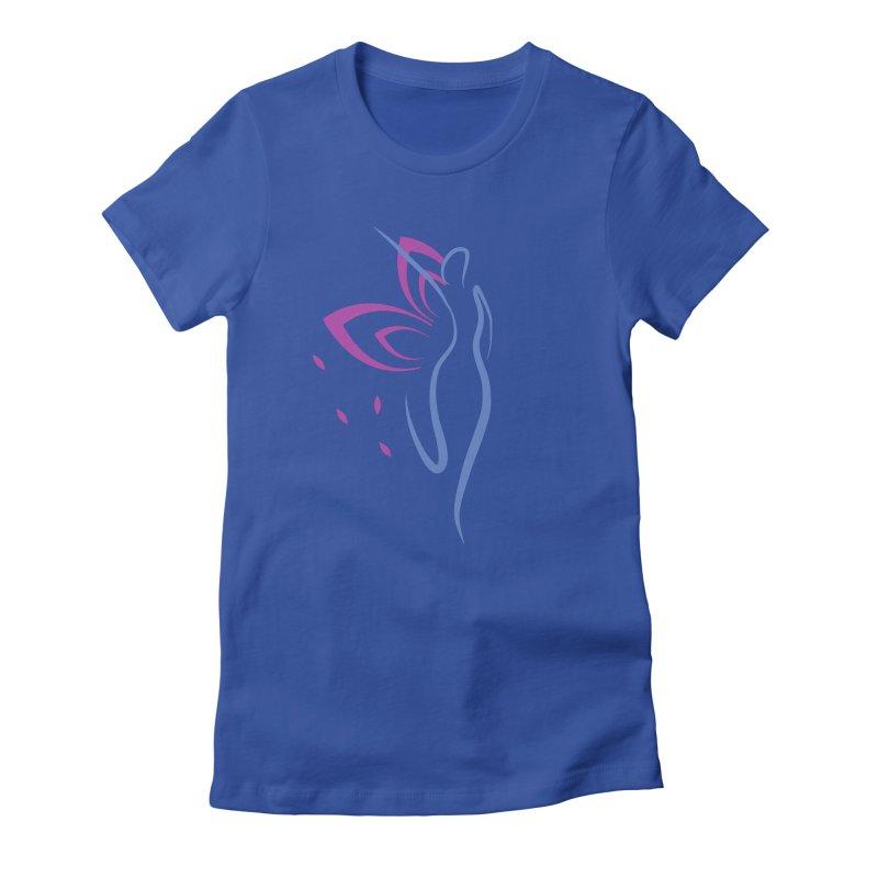 Butterfly Goddess Women's T-Shirt by Shop As You Wish Publishing