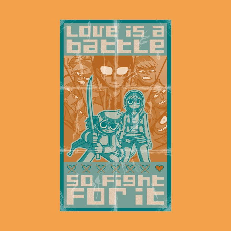 Love is a battle by AbyCyclette's Artist Shop