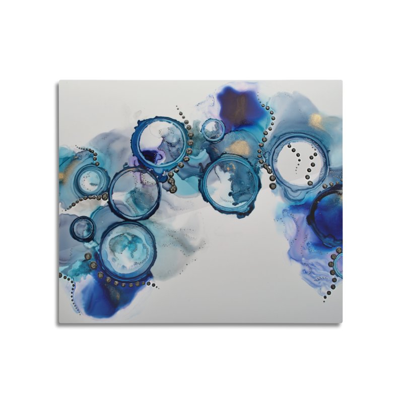 Pisces Home Mounted Acrylic Print by Abyss Arts by Britt