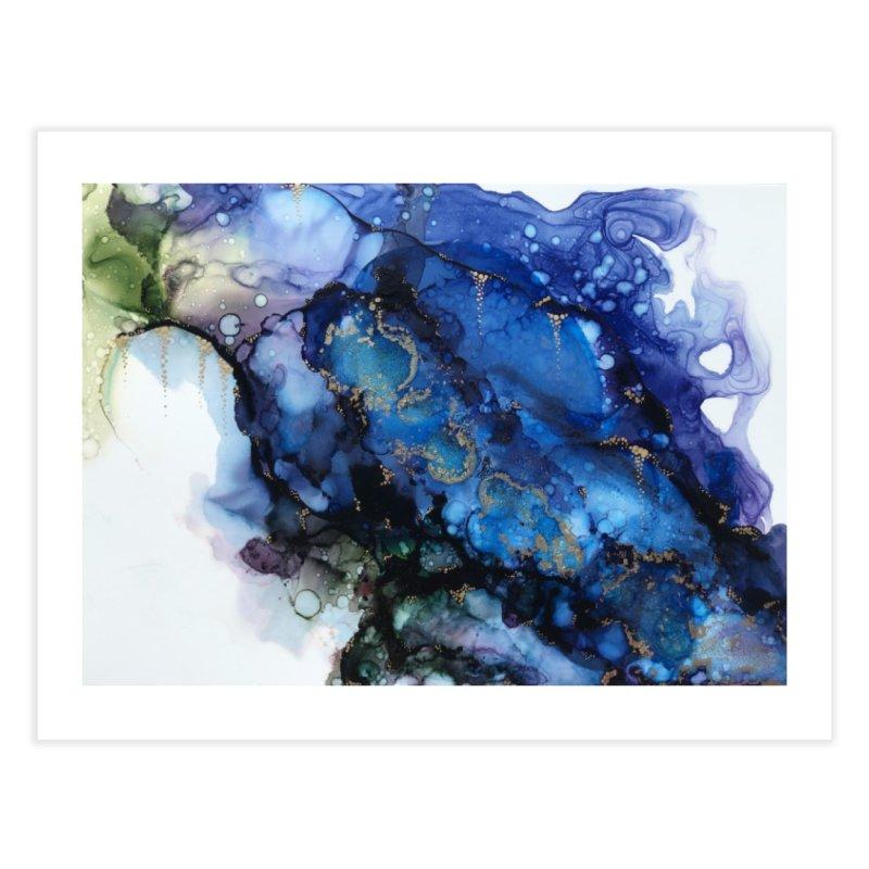 Mermaid Home Fine Art Print by Abyss Arts by Britt
