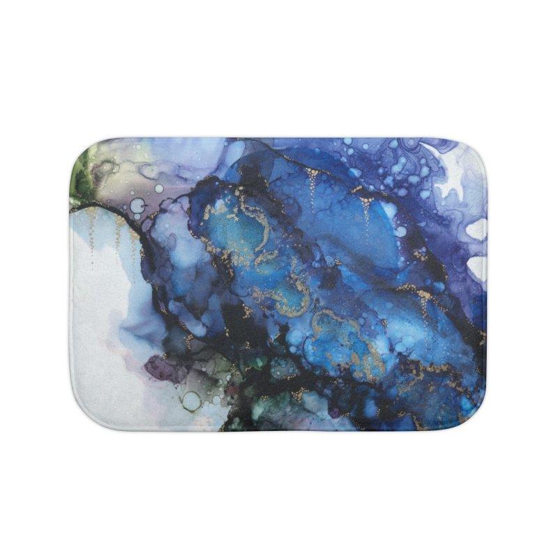 Mermaid Home Bath Mat by Abyss Arts by Britt