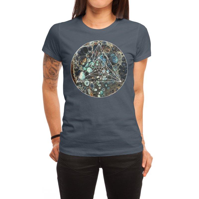 Poppy Women's T-Shirt by Abyss Arts by Britt