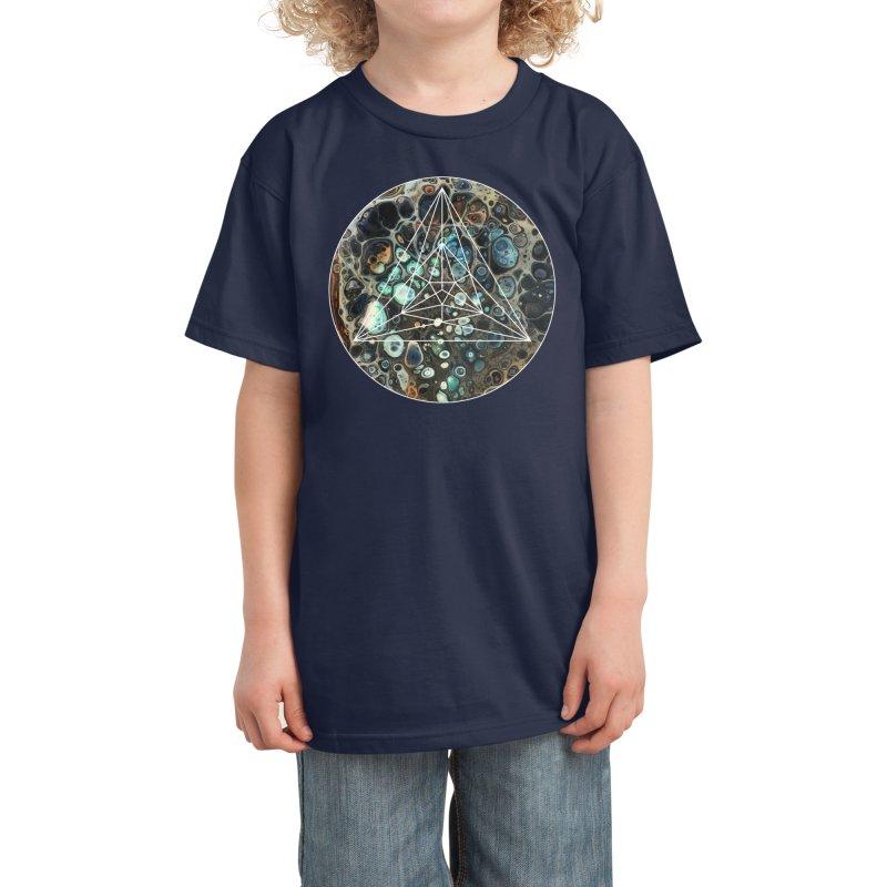 Poppy Kids T-Shirt by Abyss Arts by Britt