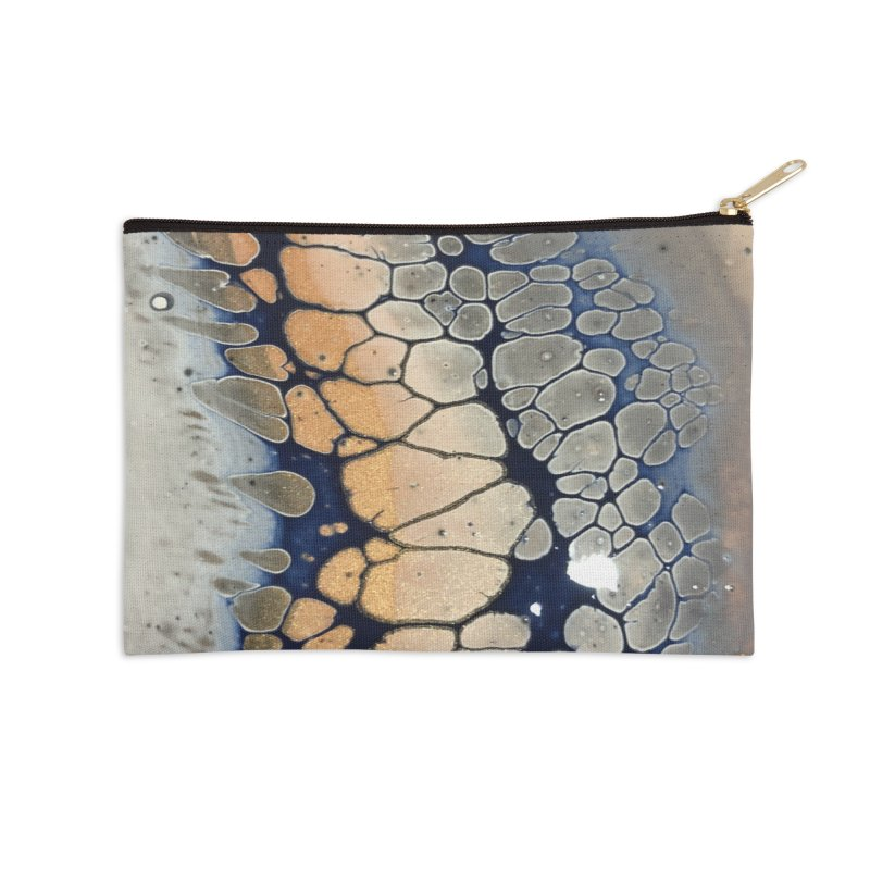 Ripple Accessories Zip Pouch by Abyss Arts by Britt