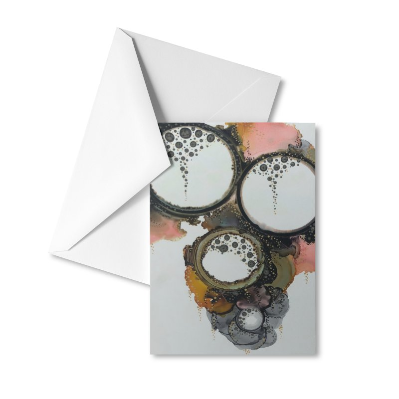 Charlotte Accessories Greeting Card by Abyss Arts by Britt