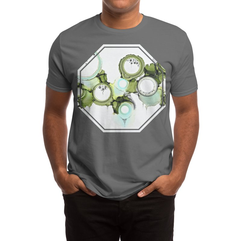 Lichen Men's T-Shirt by Abyss Arts by Britt