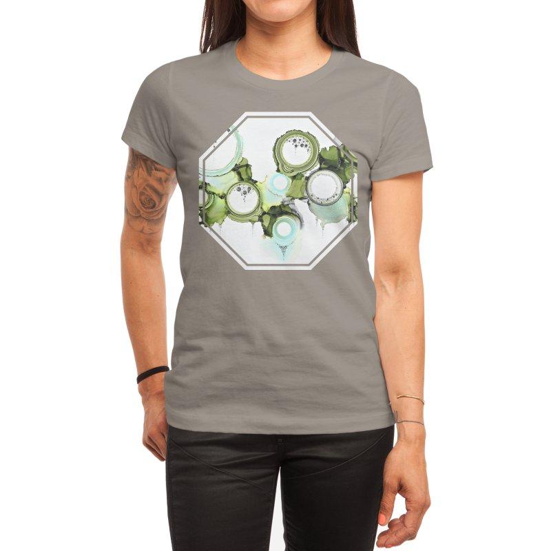 Lichen Women's T-Shirt by Abyss Arts by Britt