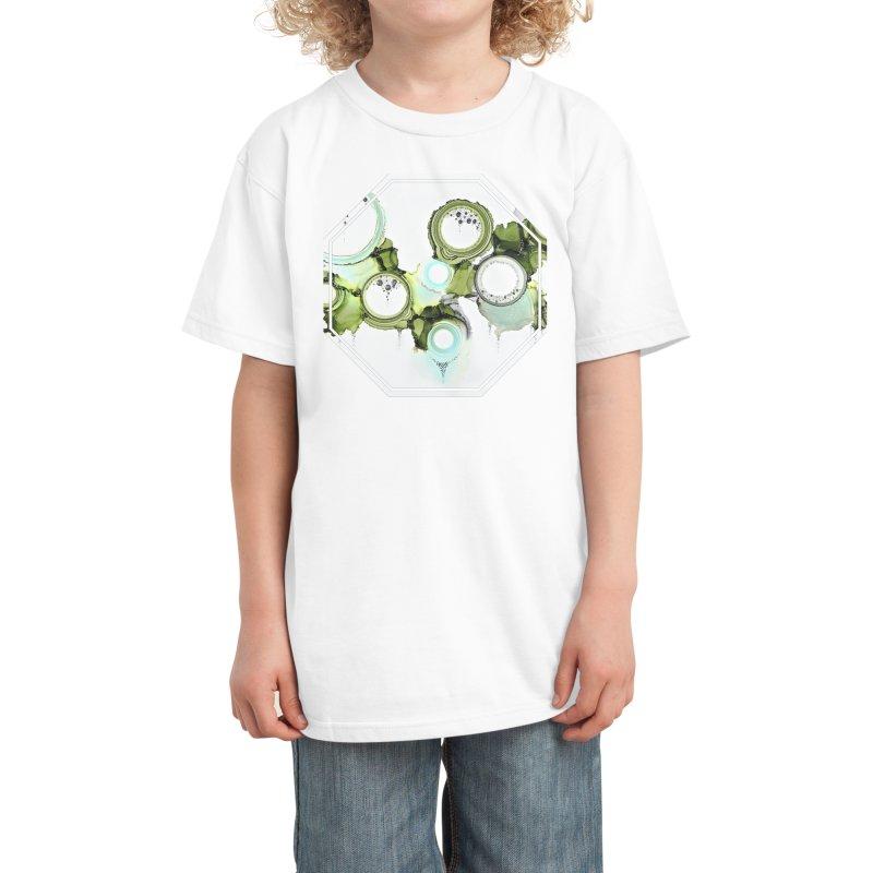 Lichen Kids T-Shirt by Abyss Arts by Britt
