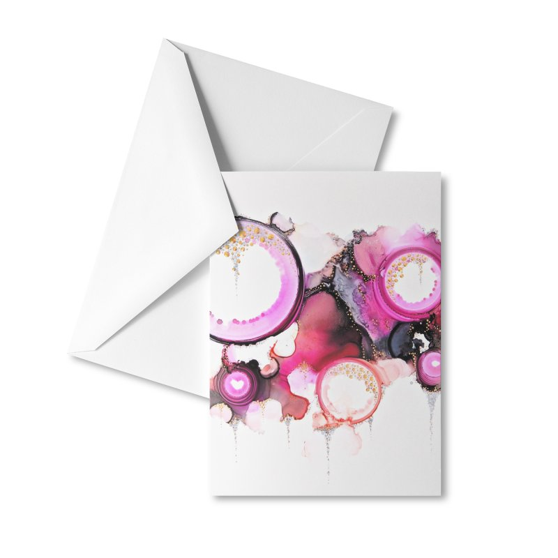 Vishap Accessories Greeting Card by Abyss Arts by Britt