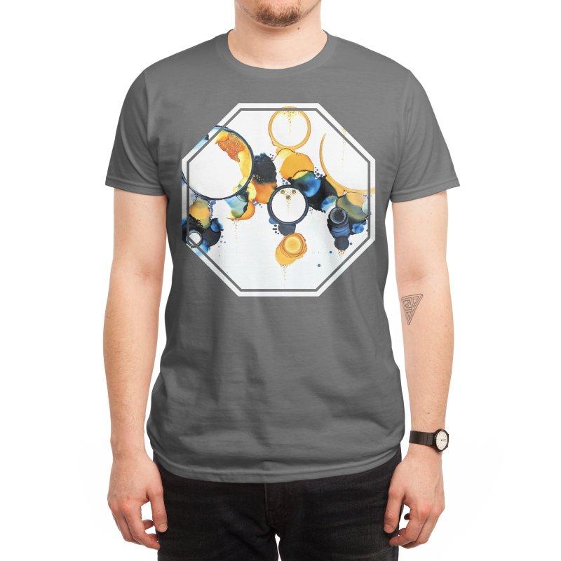 Crescent Men's T-Shirt by Abyss Arts by Britt