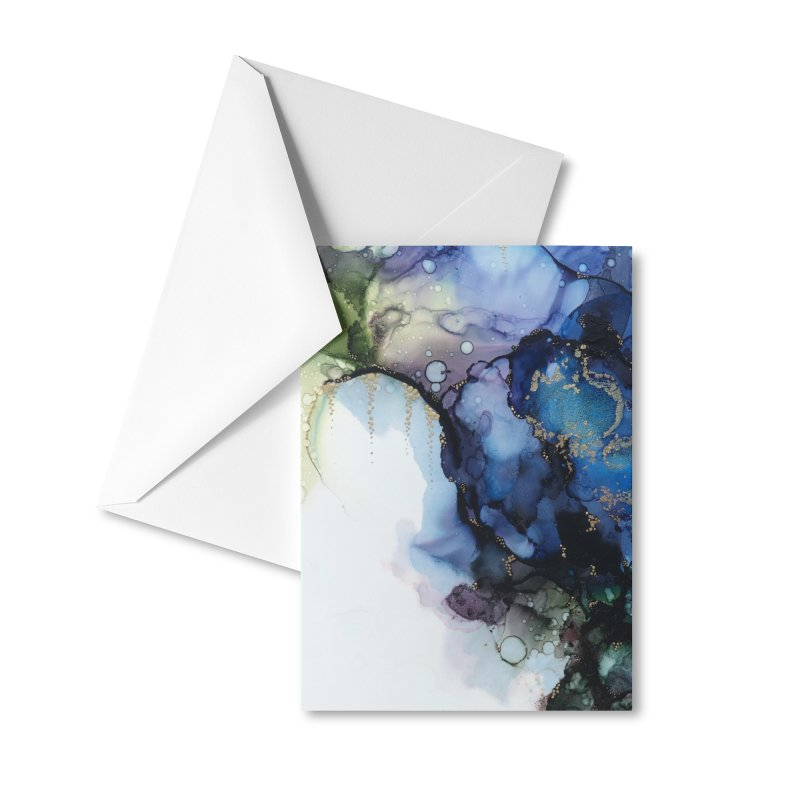 Mermaid Accessories Greeting Card by Abyss Arts by Britt