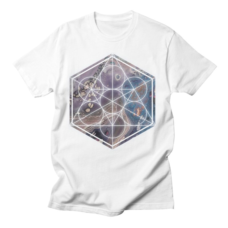Lavender Masculine T-Shirt by Abyss Arts by Britt