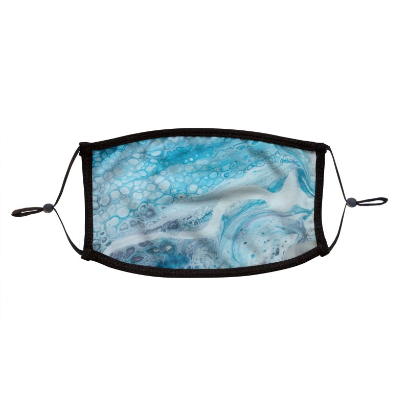 Tranquility Accessories Face Mask by Abyss Arts by Britt