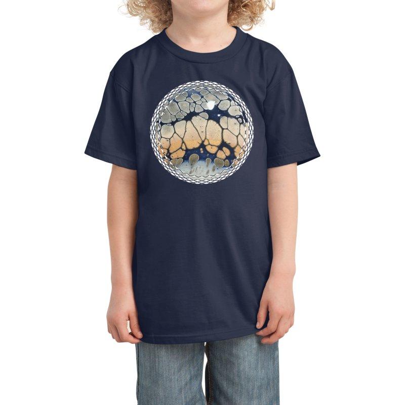 Ripple Kids T-Shirt by Abyss Arts by Britt