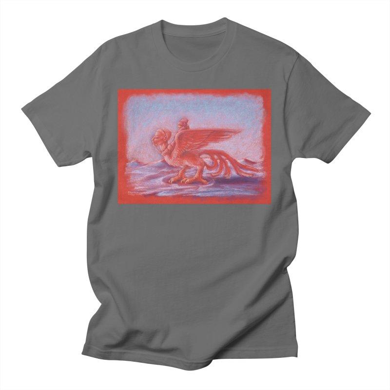 SURREAL RIDER Men's T-Shirt by AchronalArt's Artist Shop