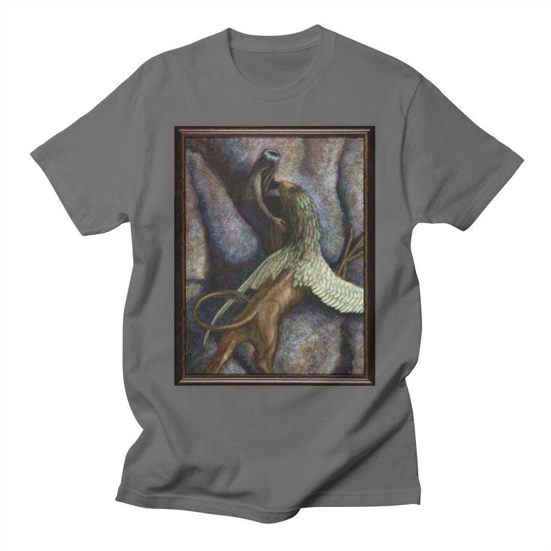 CONVERSATION (GRIFFIN) Men's T-Shirt by AchronalArt's Artist Shop