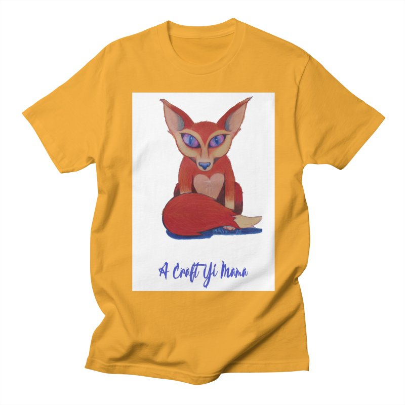 Foxxy Women's Regular Unisex T-Shirt by Acraftyimama's Artist Shop