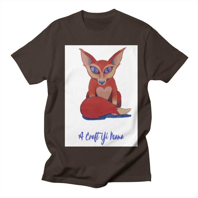 Foxxy Men's Regular T-Shirt by Acraftyimama's Artist Shop