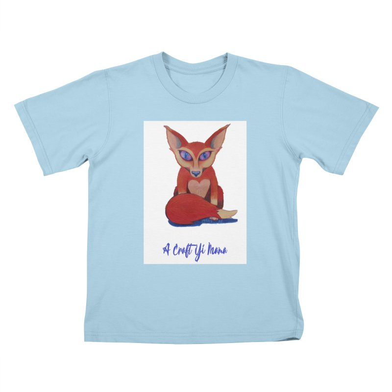 Foxxy Kids T-Shirt by Acraftyimama's Artist Shop