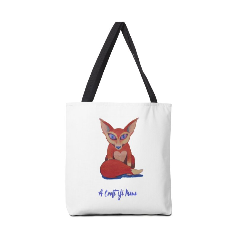 Foxxy Accessories Tote Bag Bag by Acraftyimama's Artist Shop