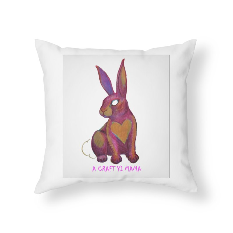 Periwinkle Home Throw Pillow by Acraftyimama's Artist Shop