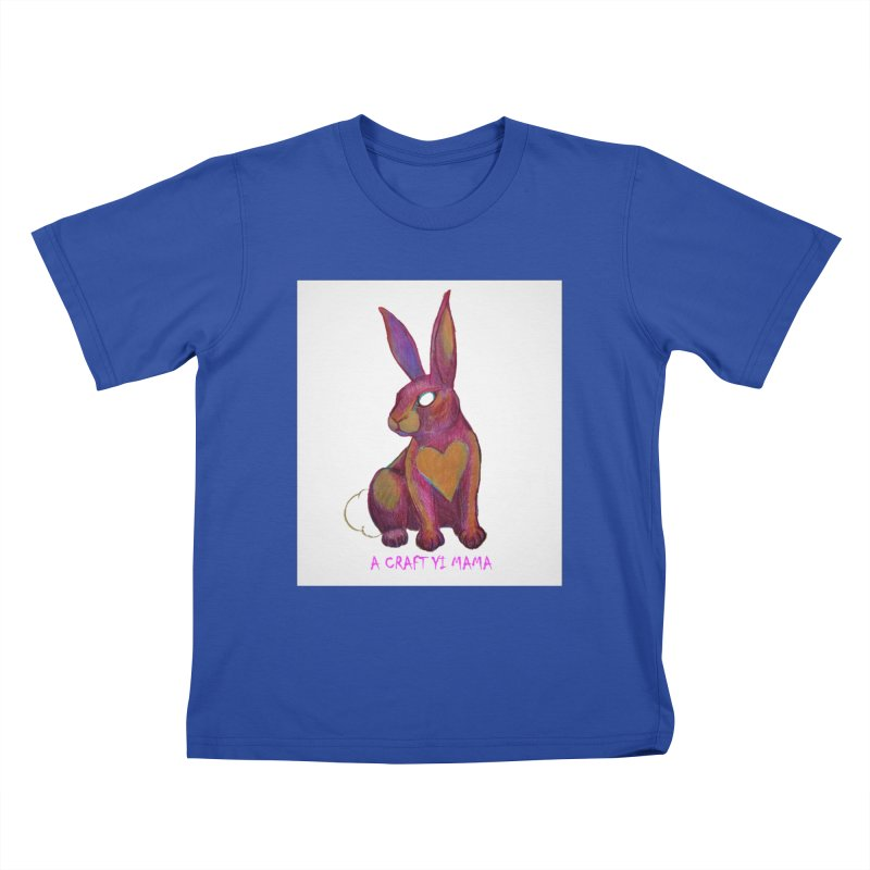 Periwinkle Kids T-Shirt by Acraftyimama's Artist Shop