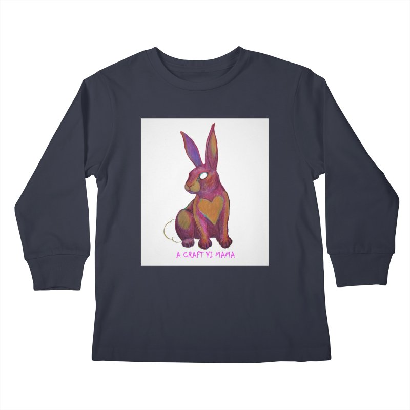 Periwinkle Kids Longsleeve T-Shirt by Acraftyimama's Artist Shop
