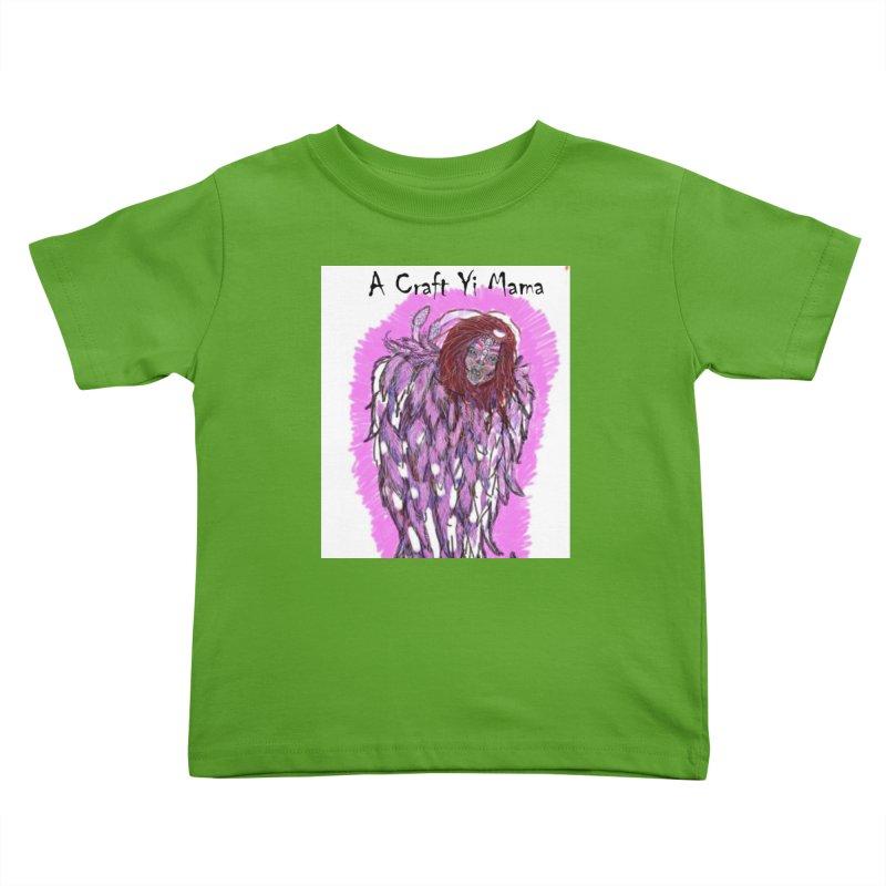 Cherub Kids Toddler T-Shirt by Acraftyimama's Artist Shop