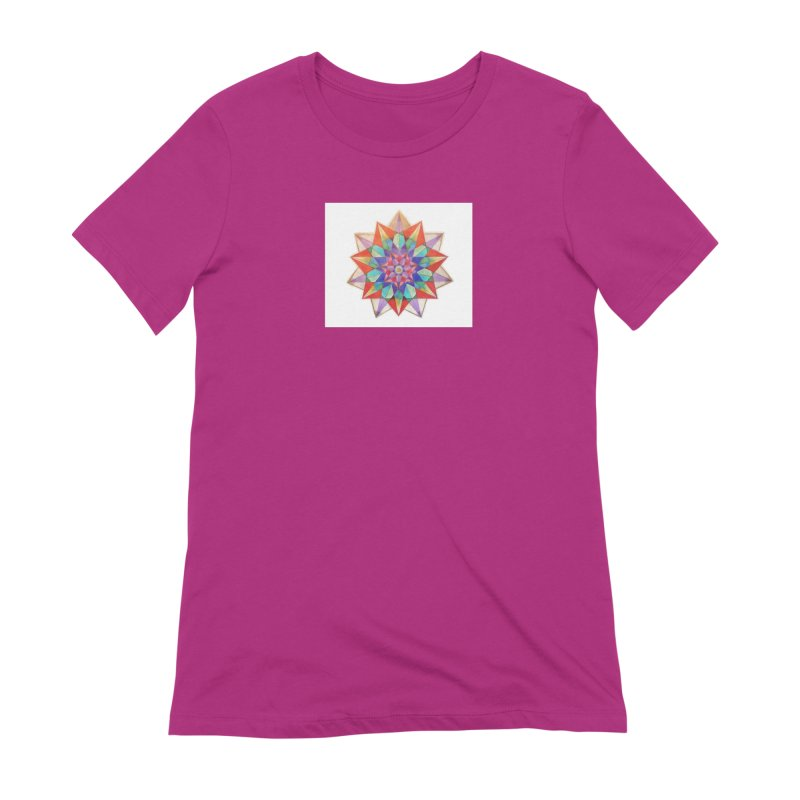 Geometric Women's Extra Soft T-Shirt by Acraftyimama's Artist Shop