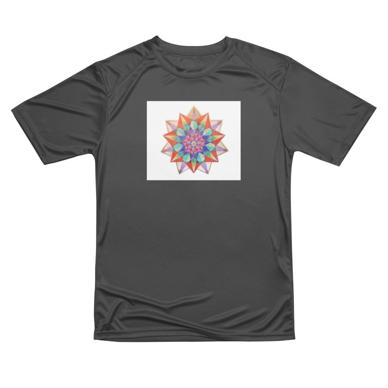 Geometric Men's Performance T-Shirt by Acraftyimama's Artist Shop