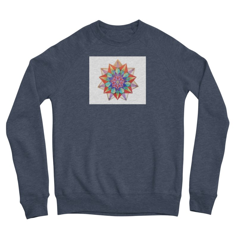 Geometric Women's Sponge Fleece Sweatshirt by Acraftyimama's Artist Shop