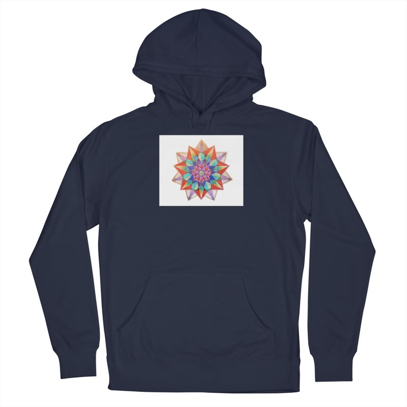 Geometric Men's French Terry Pullover Hoody by Acraftyimama's Artist Shop