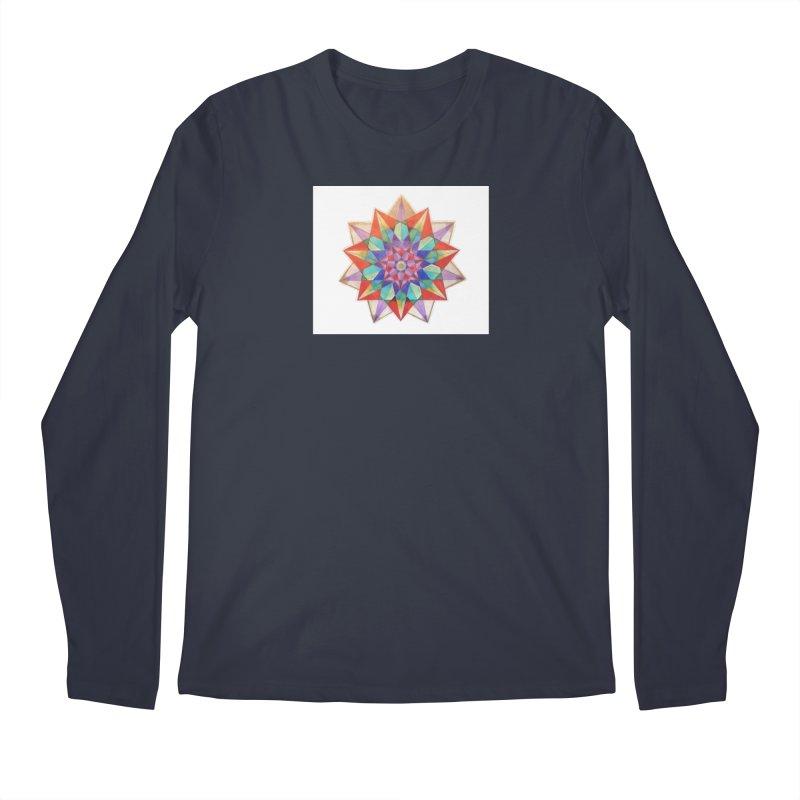 Geometric Men's Regular Longsleeve T-Shirt by Acraftyimama's Artist Shop
