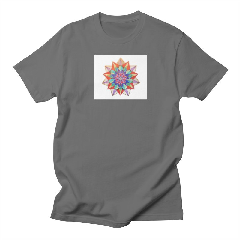Geometric Men's T-Shirt by Acraftyimama's Artist Shop