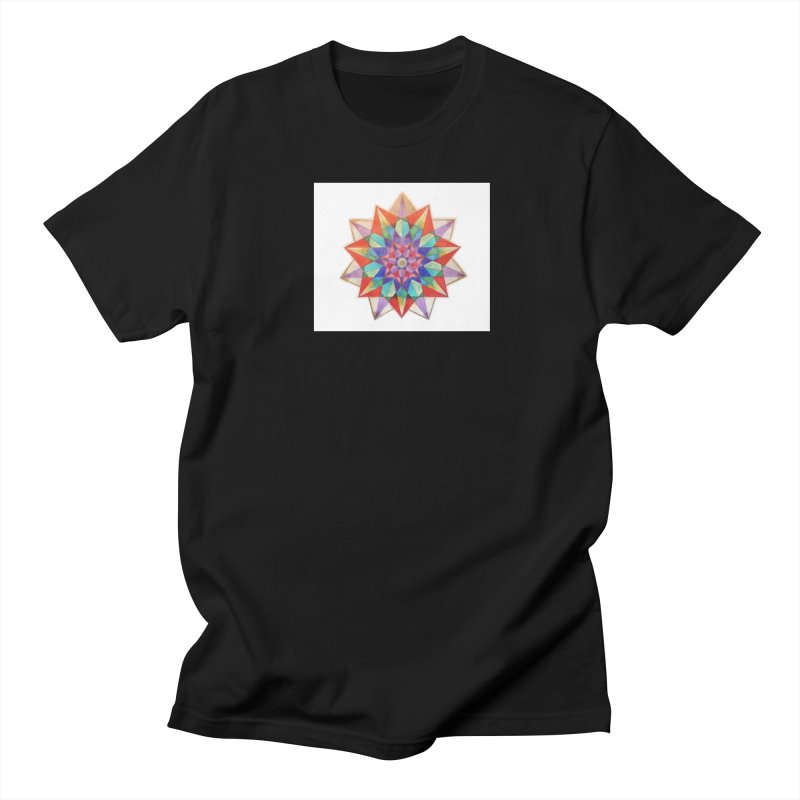 Geometric Women's Regular Unisex T-Shirt by Acraftyimama's Artist Shop