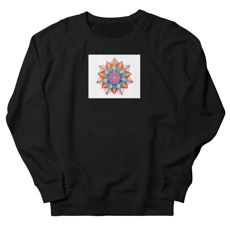 Geometric Women's French Terry Sweatshirt by Acraftyimama's Artist Shop
