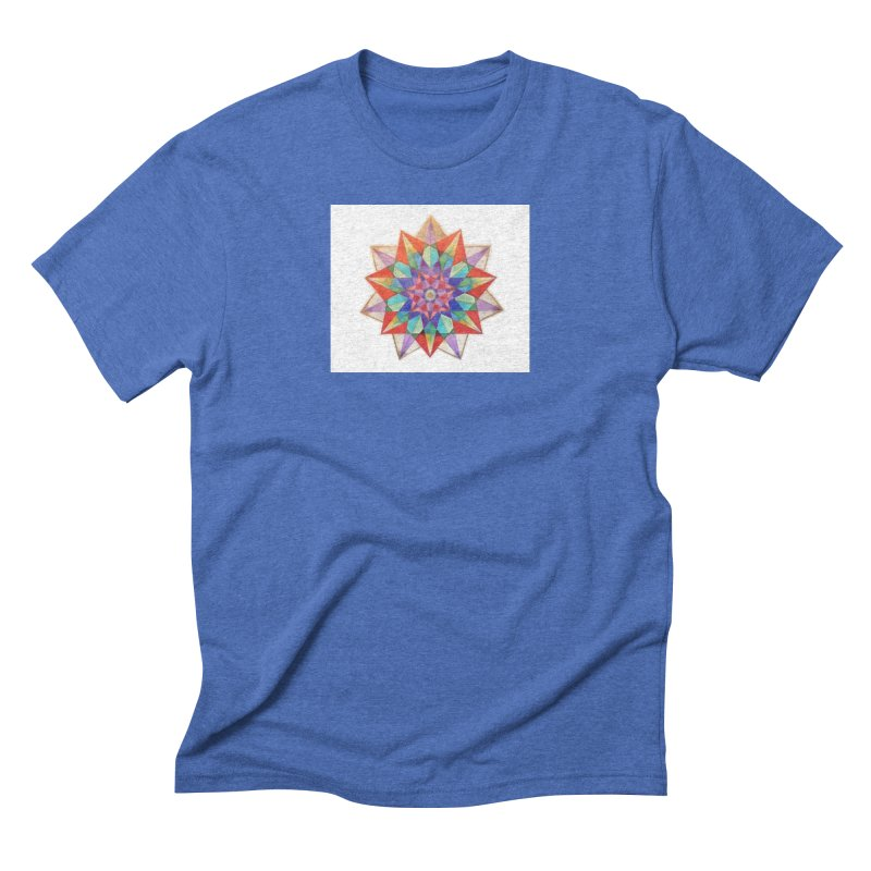 Geometric Men's Triblend T-Shirt by Acraftyimama's Artist Shop