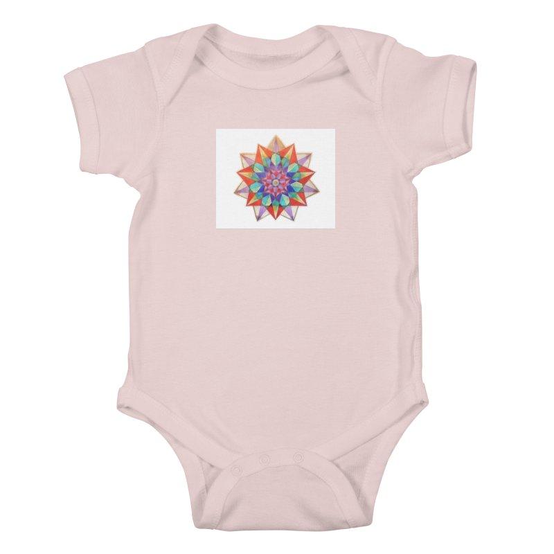 Geometric Kids Baby Bodysuit by Acraftyimama's Artist Shop