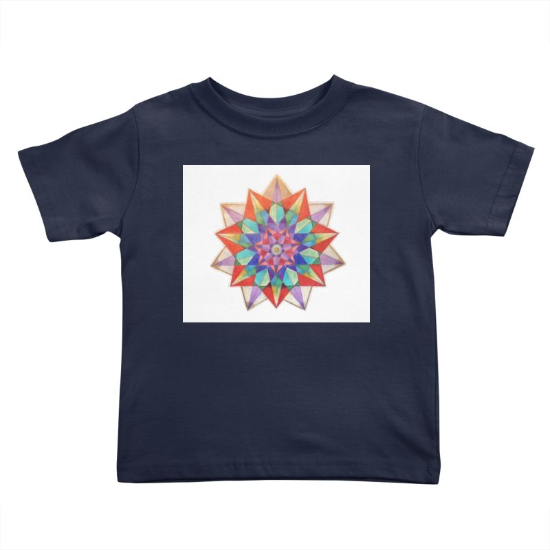 Geometric Kids Toddler T-Shirt by Acraftyimama's Artist Shop