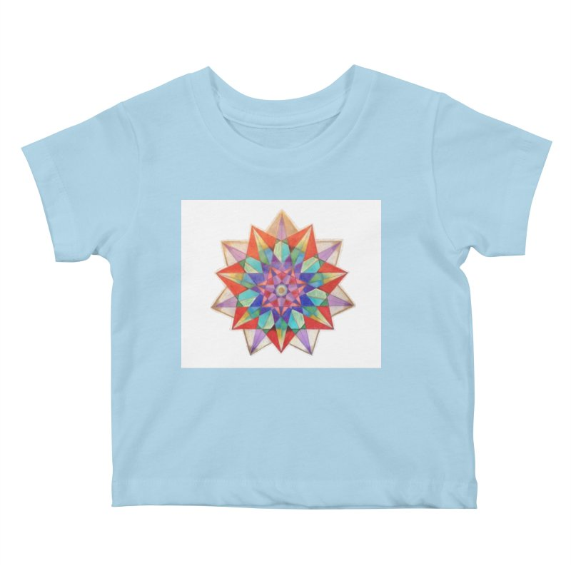 Geometric Kids Baby T-Shirt by Acraftyimama's Artist Shop