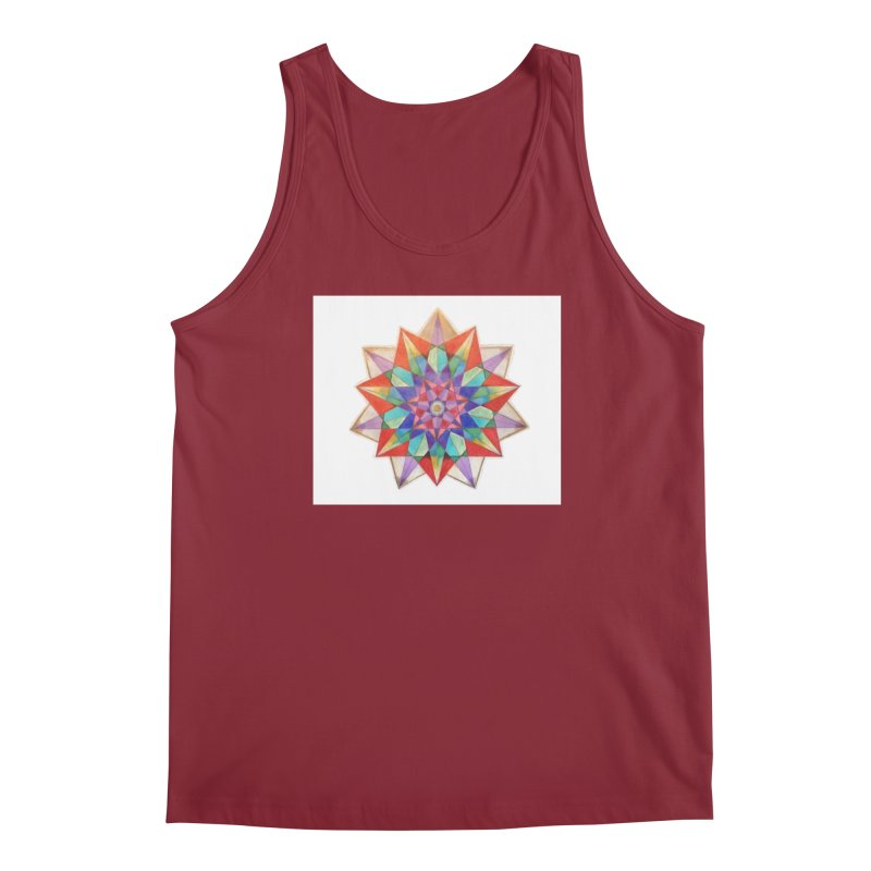 Geometric Men's Regular Tank by Acraftyimama's Artist Shop