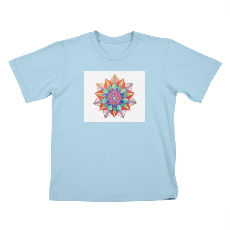 Geometric Kids T-Shirt by Acraftyimama's Artist Shop