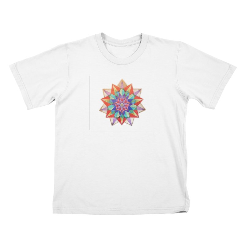 Geometric Kids T-Shirt by Acraftyimama's Artist Shop