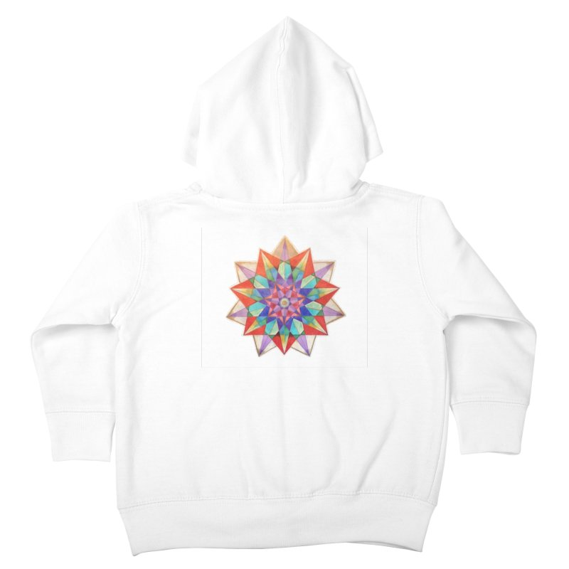 Geometric Kids Toddler Zip-Up Hoody by Acraftyimama's Artist Shop