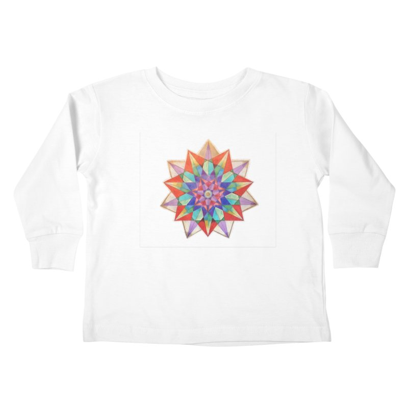 Geometric Kids Toddler Longsleeve T-Shirt by Acraftyimama's Artist Shop